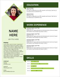 45 Free Modern Resume / CV Templates - Minimalist, Simple & Clean Design