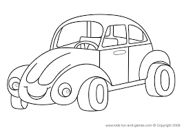 Car Coloring Pages Vehicle