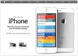 Apple s New iPhone es Out With Home Page Like This IMAGES