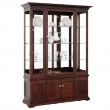 solid hardwood curio cabinets country furniture country