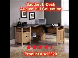 Magellan L Shaped Desk Manual by Sauder August Hill L Shaped Desk Review Links In Description