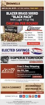 FEDERAL BLACK LABEL 9MM LUGER 115gr 500rd - $89.99 Shipped W/code