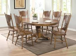 7 Piece Oak Dining Room Sets Best Of