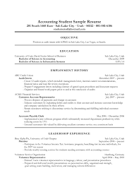 Objective For Resume Chef Example Fresh Accounting Examples