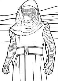 21 Star Wars The Force Awakens Coloring Pages