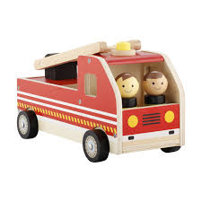 100 Wooden Truck Fire Toy Kmart