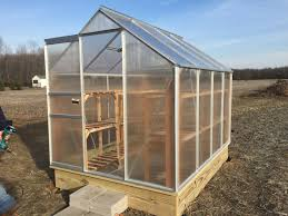 Sturdi Built Sheds Maine by Building And Improving The Harbor Freight 6x8 Greenhouse Green