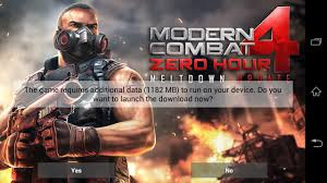 modern combat free modern combat 4 zero hour available free for xperia z owners this