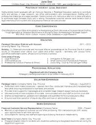 Sample Resume Attorney Career Change Legal Format Lawyer Example