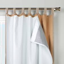 insulated curtain liner target rooms