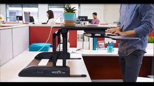 Varidesk Pro Plus 36 by Pro Plus 36 Height Adjustable Standing Desk Varidesk From