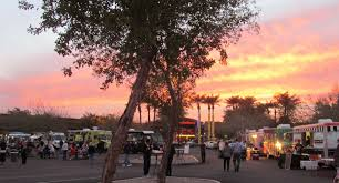 Honey Bee Sunflower: Food Truck Friday In Phoenix