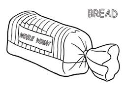 Full Size Of Coloring Pagebread Page Bread In Package Pages 600x462