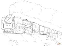 Click The Union Pacific Train Coloring Pages