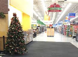 White Christmas Trees Walmart by Update Walmart Replaces Christmas Trees At Entrances Minden