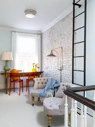 100 Brick Walls In Homes White Wall Living Room