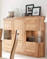 highboard sideboard schrank vitrine wohnzimmer esszimmer wildeiche geölt lanatura