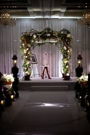 Jewish Chuppah Made Out Of Branches And Greenery