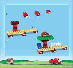 Thomas The Train Tidmouth Shed Instructions by Lego Thomas Load And Carry Train Set Instructions 5554 Duplo