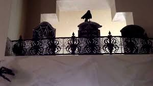 Halloween Cemetery Fence Diy by Halloween Dollar Tree Decorating All Under 15 Graveyard With