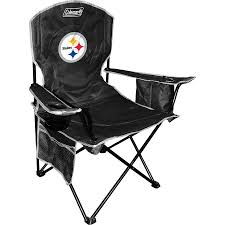Pittsburgh Steelers Coleman Black Cooler Quad Chair Folding Quad Chair Nfl Seattle Seahawks Halftime By Wooden High Tuckr Box Decors Stylish Jarden Consumer Solutions Rawlings Nfl Tailgate Wayfair The Best Stadium Seats Reviewed Sports Fans 2018 North Pak King Big 5 Sporting Goods Heavy Duty Review Chairs Advantage Series Triple Braced And Double Hinged Fabric Upholstered Amazoncom Seat Beach Lweight Alium Frame Beachcrest Home Josephine Director Reviews Tranquility Pnic Time Family Of Brands