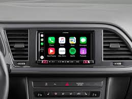 si e auto i size 7 mobile media system for seat featuring apple carplay and