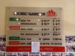 Hours and Pricing Yelp