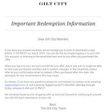 Print/Screenshot Your Gilt Vouchers Before They Become ... Ole Hriksen 50 Off Code From Gilt Stacks With 15 Gilt City Sf Gilt City Warehouse Sale 2016 Closet Luxe Clpass Deals Sf Black Friday Coupons 2018 Promgirl Coupon Promo For Popsugar Box Sign In Shutterstock Citys Friday Sales Reveal The Nyc Talon City Chicago Promo David Baskets Not Working Triumph 800 Minimalism Co On Over Off Coupon Msa Sephora Letsmask Stoway Unburden Kitsgwp Updates