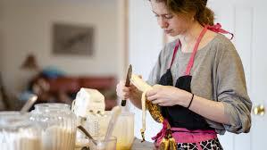 backen und kochen ohne eier bananen leinsamen und essig