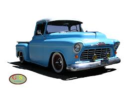 1955 Chevrolet Pickup Truck Car Chevrolet Silverado - Hot Rod 1000 ...