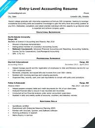 Resume Sample Singapore Accounting Feat