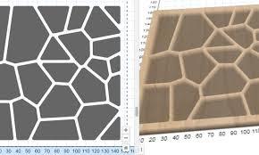 voronoi generator mosaic tile