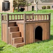 boomer u0026 george stair case dog house hayneedle