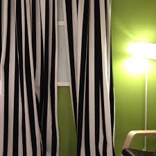 Yellow And White Striped Curtains by Black And White Striped Curtains Kids Pinterest Ikea Fabric