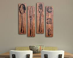 large wooden fork and spoon wall hanging wall decor where to buy wooden fork and spoon wall decor silver