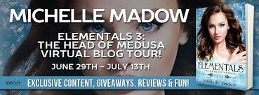 Giveaway Elementals 3 The Head Of Medusa By Michelle Madow