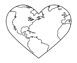 Valentine Hearts Coloring Pages Heart Printable