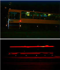 100 Marker Lights For Trucks View Of The Bus With Side Marker Lights Overnight Download