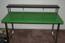 Ikea Laiva Desk Instructions by Ikea Studio Desks To Hold The Shelf Up Uses 4 Kitchen Cabinet