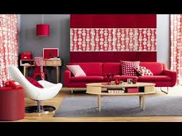 Red Living Room Decorating Ideas
