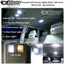 Prado 120 Series LED Interior Light Kit - 8pcs Kit | Assassin LED