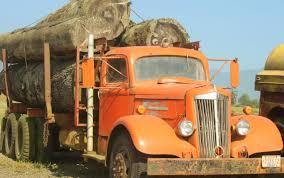 100 Old Semi Trucks A Logging Truck Big Trucks White Truck