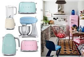 cuisine smeg gamme smeg ées 50 everlasting color pastello