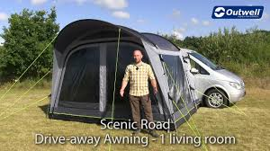 Scenic Road Drive Away Awning