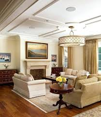 modern decorated home types lighting living room low ceiling for a