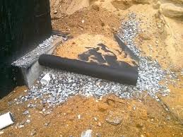 foundation drain tile must be installed correctly or waste of