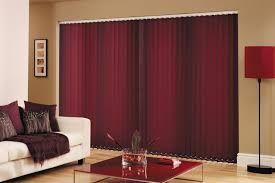 Red Curtains Living Room Ideas by Decorating Brown Vertical Blinds Home Depot For Pretty Home