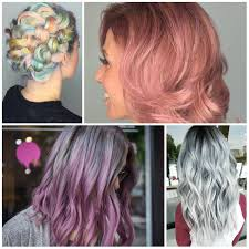 Pastel Hair Colors For Summer 2017