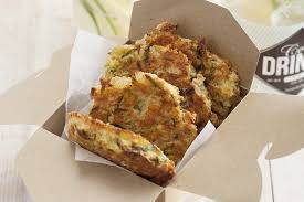 käse lauch pfannkuchen mit schnittlauchdip