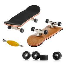 Kocome Wooden Deck Fingerboard Skateboard Sport Games Kids Gift ...